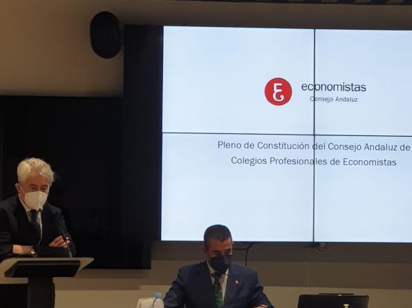 CONSTITUIDO EL CONSEJO ANDALUZ DE COLEGIOS PROFESIONALES SIENDO ELEGIDO NUESTRO DECANO COMO PRESIDENTE.