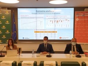 Presentación del VIII Barómetro Económico de Sevilla y provincia del Colegio Profesional de Economistas de Sevilla